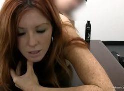 Mature red head porn casting