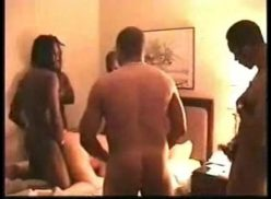 Mature wife banded by black men